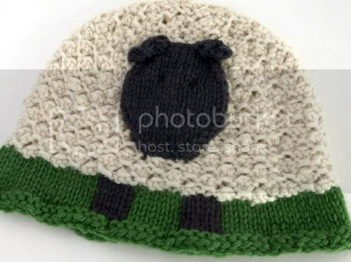 Textured Sheepy Hat