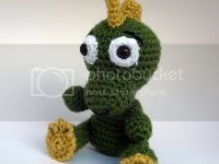 ::Inspired by Fantasy:: &lt;br&gt;Crocheted Dragon Stuffy